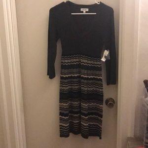 Small dress barn sweater dress